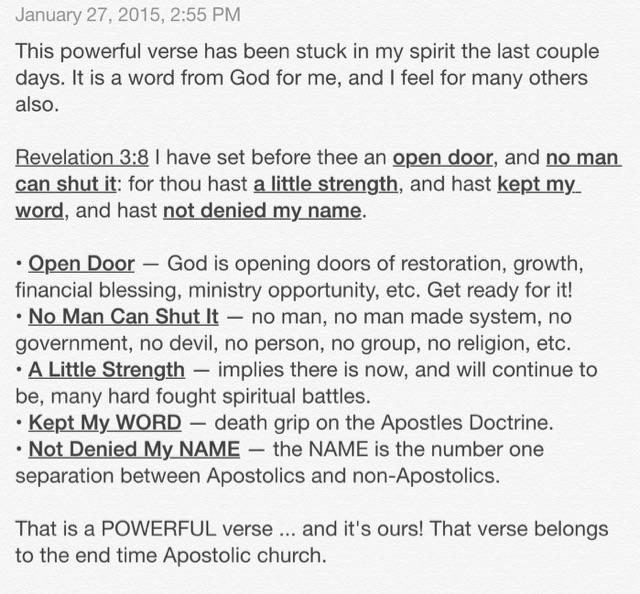 Powerful verse stuck in my spirit. It's a word from God for me, and for many others. Read prayerfully... http://t.co/mAEcv2XQzm
