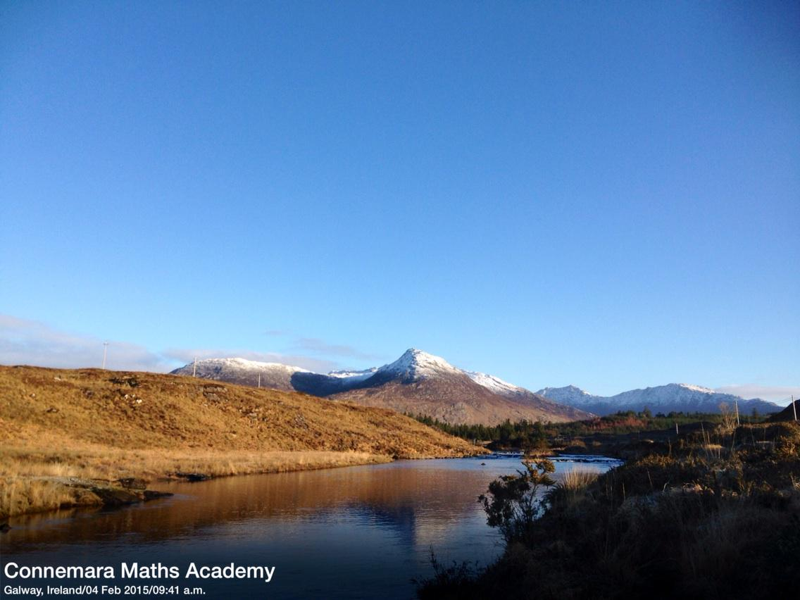 Beautiful morning #SchoolRun through Ballynahinch #Connemara @wildatlanticway @DiscoverGalway #WildAtlanticWay http://t.co/k8CTBjRnUJ