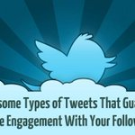 8 Types of Tweets That Guarantee More Engagement With Your Followers - http://t.co/CW91nKLXed #Marketing #KPRS http://t.co/v5F5bNpmmT