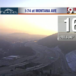 Twitter / @KetchmarkWCPO: A hazy sunrise on the west ...
