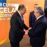 Twitter / @luisguillermosr: Recibo al Presidente de Cu ...