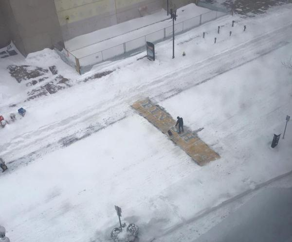 Help Boston solve a #BlizzardOf2015 mystery. #WhoShoveledTheFinishLine? #BostonStrong http://t.co/1icgPcW9Vc