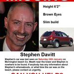 Putting this out again for evening tweeters My lovely dear friend #stephenDavitt is missing please RT #findstevie http://t.co/uWESaSXhlz