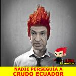Tranquilos. Aunque la cuenta de @CrudoEcuador esté suspendida por los esbirros, sus memes siguen circulando en redes http://t.co/4pzbjsqxHb