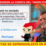 No se aguantaron, los FUNDAMENTALISTAS CRIOLLOS hicieron cerrar @CrudoEcuador http://t.co/mjSkg6fo6z