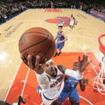 Russell Westbrooks 40 points arent enough as Knicks beat Thunder, 100-92. New York has won 4 of last 5 games. http://t.co/BqPtM1If5y