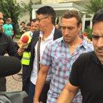 Ya está en Guayaquil el nuevo jugador del @BarcelonaSCweb @BrahianBa CC @marcadorec @eluniversocom foto @CarBaRi http://t.co/uHr6dnhznh