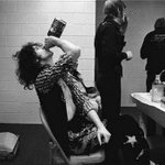 Led Zeppelin backstage. http://t.co/WAGc35lnHF