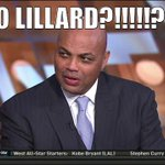 NBA - Chuck after hearing the West reserves http://t.co/qw3IM7yiGp