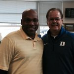Coach Cutcliffe of Duke at Tabor City! Great to see you Coach!!!  Special moment for Alumni & Spartan Coach Marshall http://t.co/07MzD9ulvC