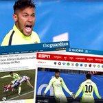 . @Neymarjr in goal-den form http://t.co/TlRibe4kAq http://t.co/GAJbIhNLJ7