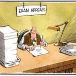 Brutally clear cartoon from Camley in @HeraldHolyrood on SNP exam appeals policy http://t.co/NsJRWO8IPR