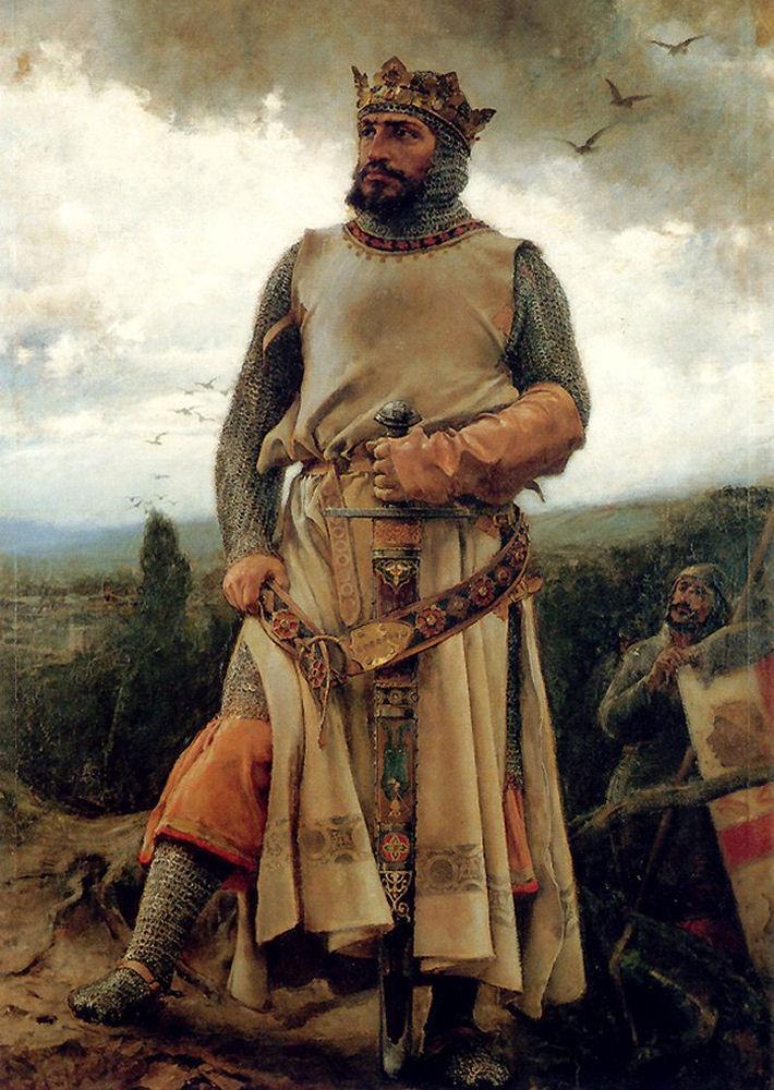 """Alfonso I de Aragón, el batallador"" , de Francisco Pradilla y Ortiz. http://t.co/rQVvFEldy1"