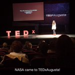 "NASAs Ali Llewellyn speaks at #TEDxAugusta about finding your ""Dawn Wall"" http://t.co/lsBMkl00ep"