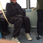 Just seen Roy Hodgson in disguise on the bus😳 http://t.co/TpVpQJGsKH