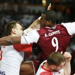 Qatar beat Poland 31:29 at Lusail the first non-European ever to secure a medal http://t.co/z9WQEdoqAv #LiveitWinit http://t.co/Jst0kKpaA4