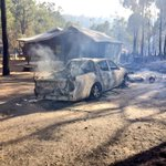 First pictures starting to emerge from the Waroona fire. Details throughout the day on @9NewsPerth http://t.co/6Fo7YtGnwK