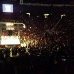 Amazing turnout tonight @ #WWELasCruces! Broke the @WWE attendance record in LC. Great show, matches & crowd! @WWE http://t.co/RVyZJ5AVhY
