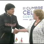 Polémica por reunión de Presidenta Bachelet y Evo Morales http://t.co/Zc0xeVpk1U #CNNChile http://t.co/p3W2FRNIrp