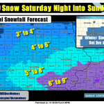#winterstorm watch issued for Heavy #snow Sat/Sun acrs much of #Iowa. Stay tuned for updates! #iawx #iowaweather http://t.co/vPdicaMpHW