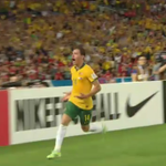 GOAL! James Troisi has scored in extra time to put the @Socceroos 2 - 1 up against South Korea. #AUSvKOR #9News http://t.co/4lg9DMXT8y