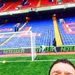 Got the cracker today at Selhurst Park Palace v Everton, pitch is looking good #kammyselfie http://t.co/01Twql1VYt