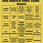 Weve updated DAN DAKICH BINGO for Saturdays game in Iowa City. http://t.co/yVMOIdXII2