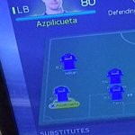 Im such a mourinho fan boy to the point I even put azpi left back on fifa http://t.co/IjlaAKmK0r