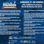 #Puebla conoce la lista de lugares participantes, y no te pierdas hoy la primera #NocheDeMuseos de este año. http://t.co/mcz6BiMuPJ