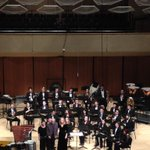 Terrific concert last night with @NUbands and their world premiere - congrats to Paul Lansky, prof She-e Wu & SWE! http://t.co/Zo1QLmQlGQ