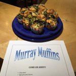 Sweet or savoury, weve got you covered @judmoo! #murraymuffin #AusOpenFinal #comeonandy http://t.co/x9pdS5w3Gs