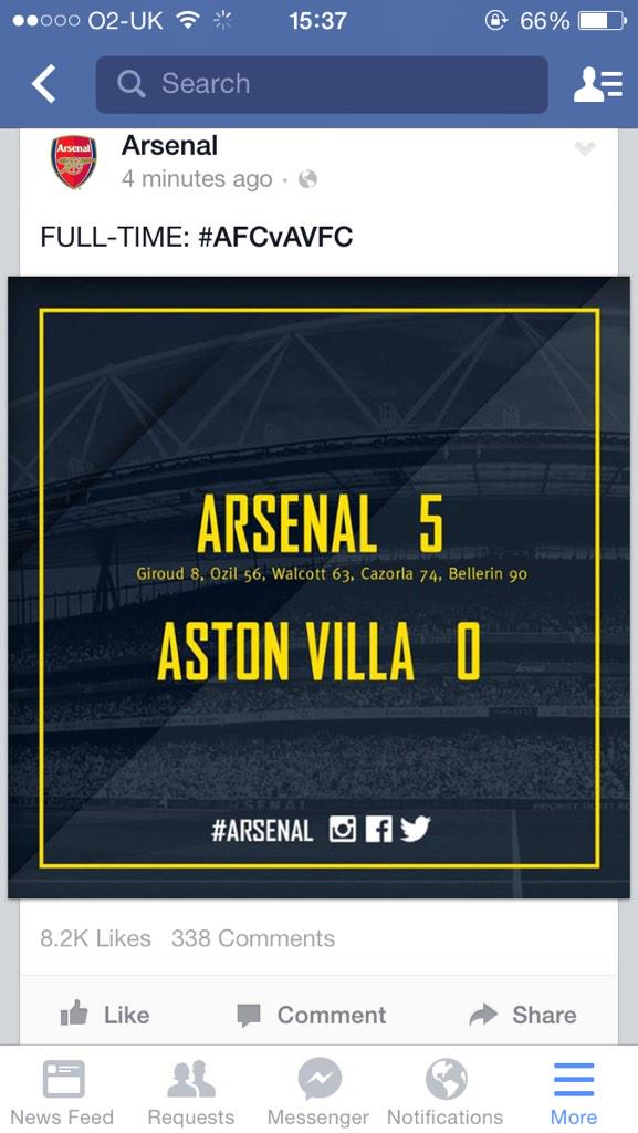 What a result! #AFC4LIFE http://t.co/GMCA0tIoZx
