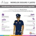 En #Morelos se ha fortalecido el cuerpo policial a través equipamiento, dignificación, operatividad #2InformeMorelos http://t.co/v2UvSywiQU