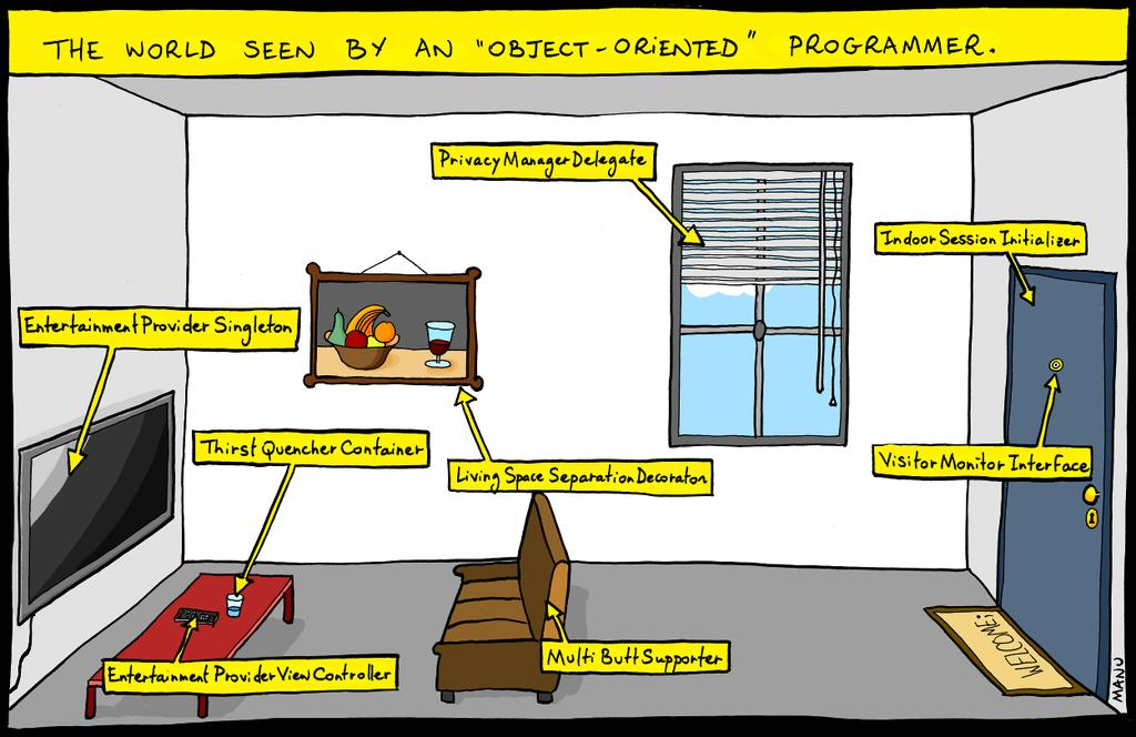 The world seen by an object-oriented programmer http://t.co/5Gp7YueFWc