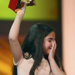 RT @cinemathequefr: Jafar Panahi's niece accepted the Golden Bear yesterday. Panahi is banned from making movies and travelling abroad http…