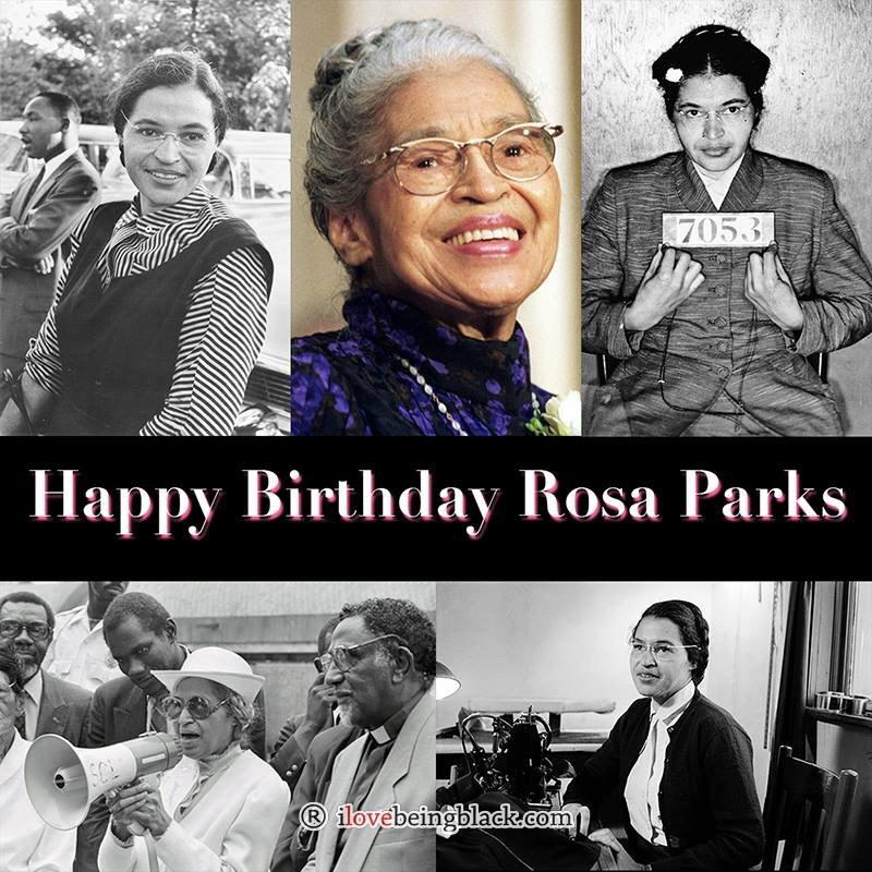 Happy Birthday to the late and great Rosa Parks. #RIP http://t.co/5LbkFlzhGW