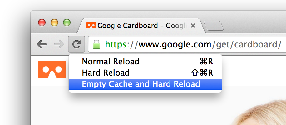 Protip: With @ChromeDevTools open, click/hold the Reload button for bonus Empty Cache & Hard Reload options: http://t.co/lyXgcrzE2P