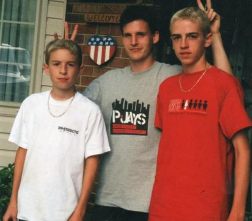 #TBT to  @robdyrdek, @_BIGCAT, and @DramaBeats as young Wild Grinders!! #wildgrinders http://t.co/e8bYzdX77E