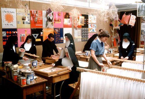 Sister Corita at @TheWarholMuseum  then in CA. Corita Kent = the BEST!  photo @coritaartcenter http://t.co/52SoWWI7rn http://t.co/WNSqnR5WXl