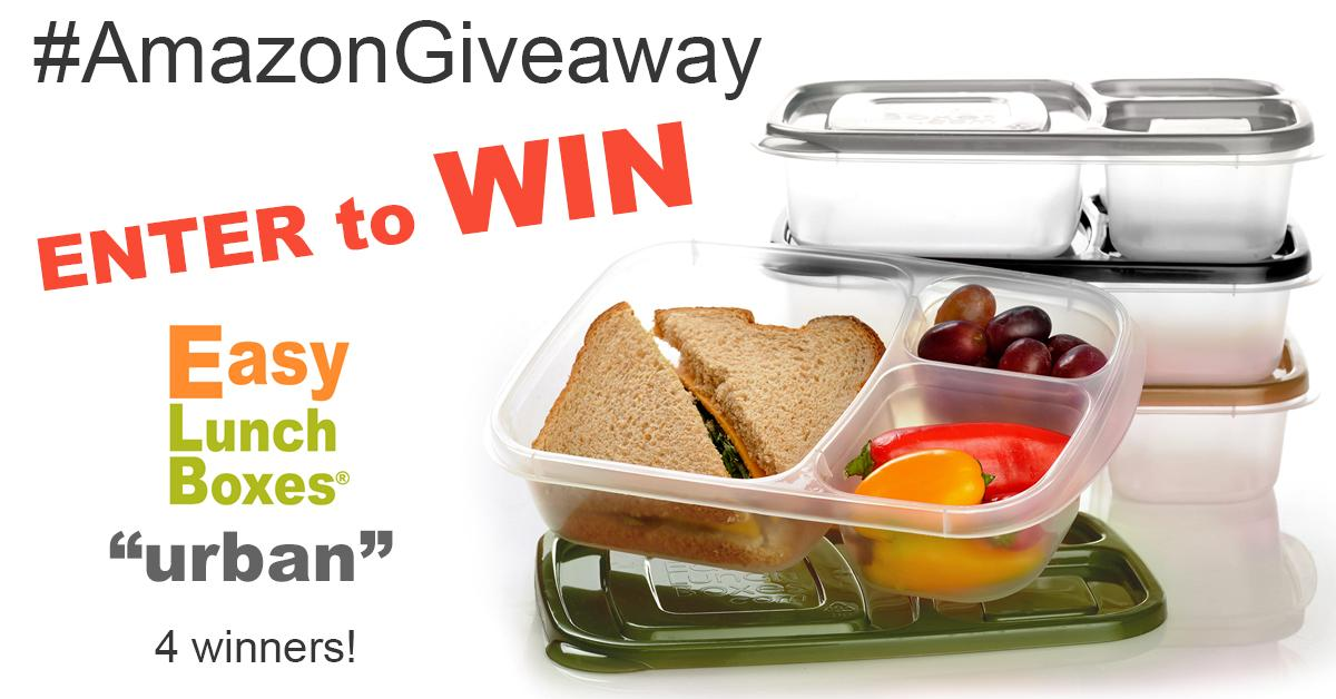 Enter the #AmazonGiveaway for my URBAN lunch container set. A second chance giveaway too! http://t.co/BcWniD8vSh http://t.co/AUJSZchUeG