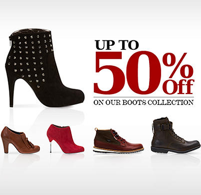 NAMSHI متجر نمشي  (@NamshiDotCom): Up to 50% OFF on our boots collection! Get offer now: http://t.co/V2cf5TjC http://t.co/O7J0zO8p