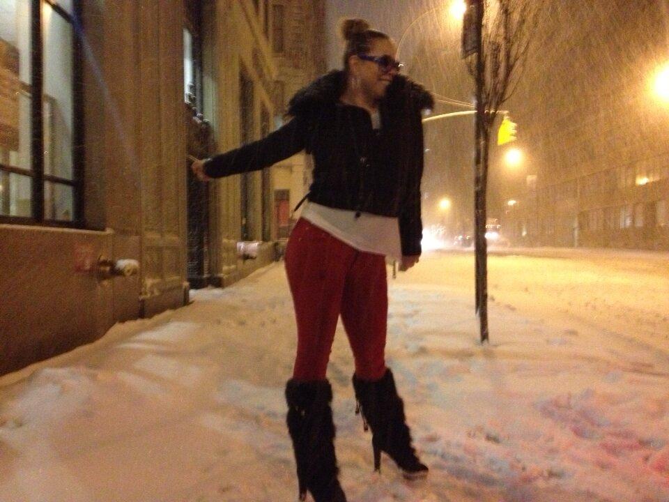 Mariah Carey's Twitter Photo