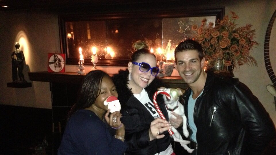 Mariah Carey's Twitter Photo