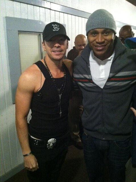 Donnie Wahlberg's Twitter Photo