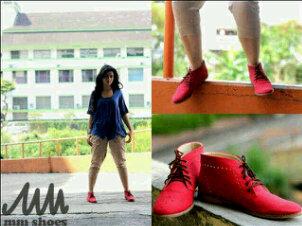 Availbale Stock MMshoes Semi Boot#red harga MurmeR aja kualitas OKE !! @lapakguecom @apaajaIKLAN @Jual_Beli http://t.co/vrsPhDBt97