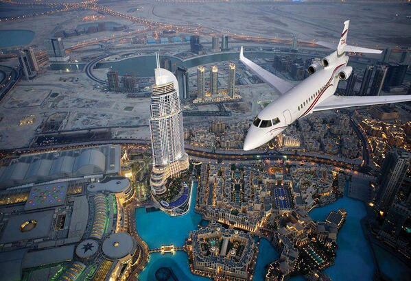 Espectacular vista de Dubai desde el aire @NaturPictures http://t.co/ORzpboJgeI