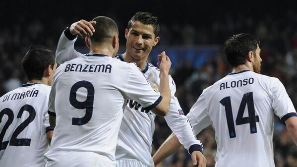 Want to see both @realmadrid's goalscorers in one picture? No problem ... http://t.co/HrBZxacfe3
