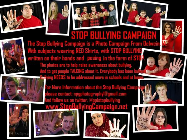 RT @pplstopbullying: @kelly_clarkson Are you against #Bullying? Can we get a RT to show your support? :) http://t.co/pwep6SLPAc #stopbullying