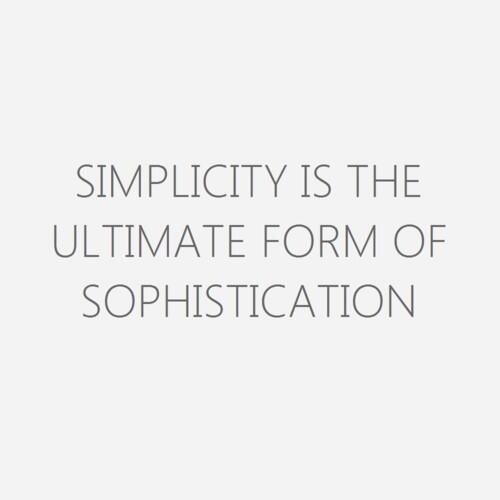 '#Simplicity is the ultimate form of #elegance' #quotes #uae #life http://t.co/3Yc19XriRW