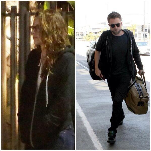 Lei la indossa la sera e il giorno dopo lui la mette e la porta con se a New York. Se non è amore questo. http://t.co/VWRkV6ML80